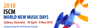 ISCM World New Music Days 2010