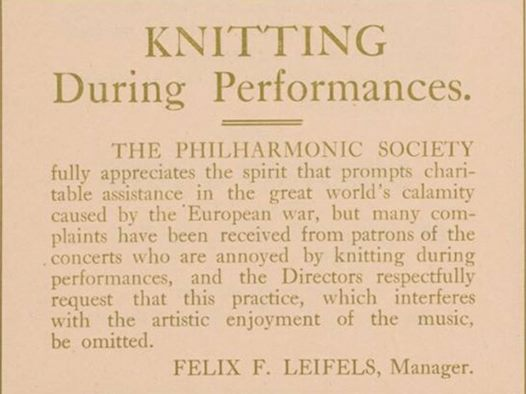 NY Philharmonic program note 1915