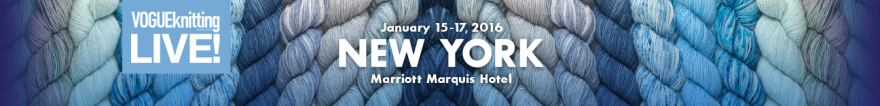 Vogue Knitting Live NYC 2016 banner
