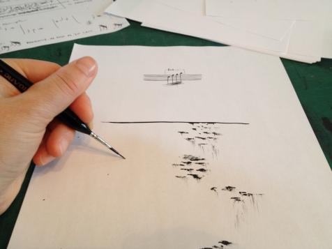 Rivulet Drawings - Paper Etudes - Jobina Tinnemans