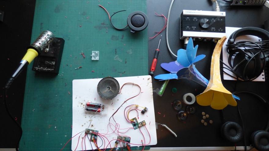 CASW Narberth Museum Sound Objects - Jobina Tinnemans 6