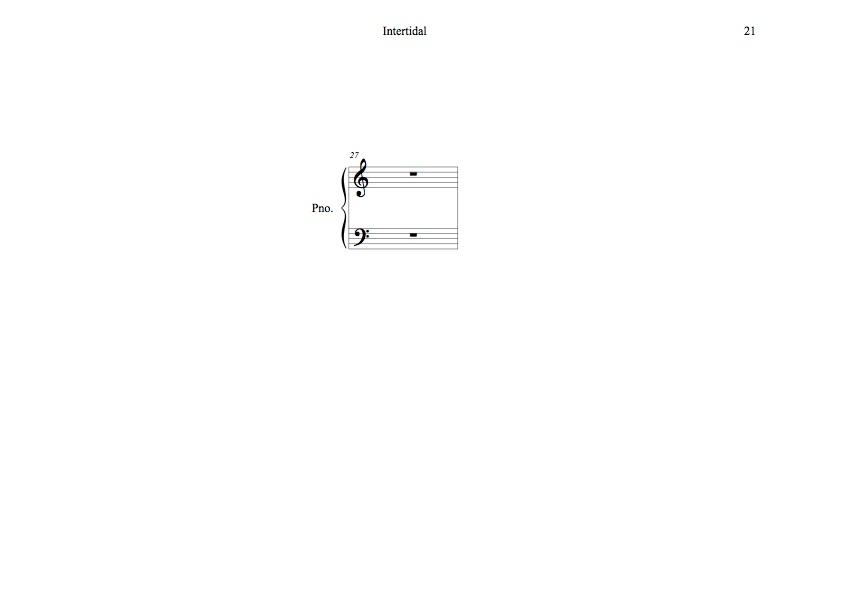Intertidal - Winged Kelp - Page Turner Étude No3 - Jobina Tinnemans