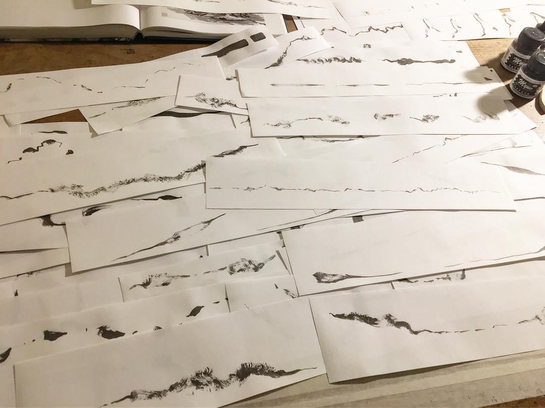 Jobina Tinnemans - panoramic scores - scale models