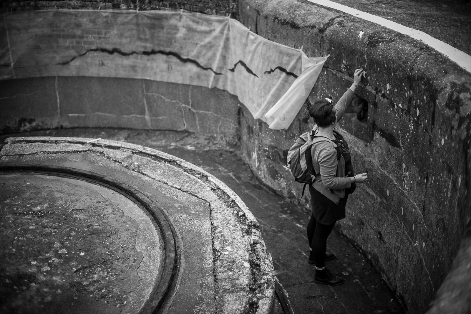Jobina Tinnemans - prepping 'Central' - photo Agata Urbaniak